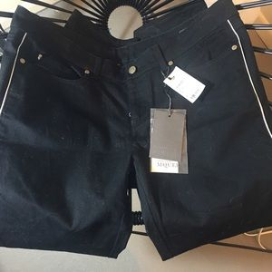Authentic Alexander McQueen Black Jeans